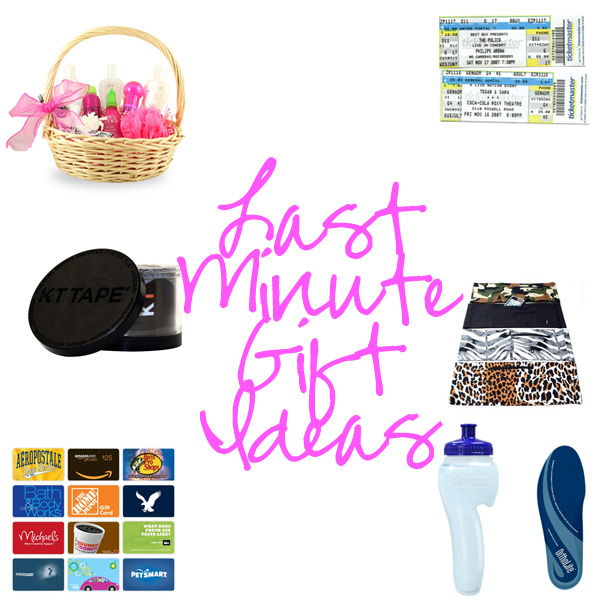 last minute gift ideas for procrastinators