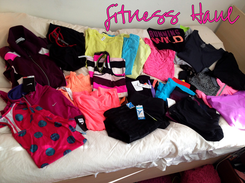 fitness haul