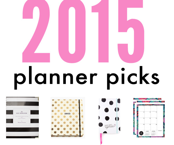 2015 planners, agendas, calendars