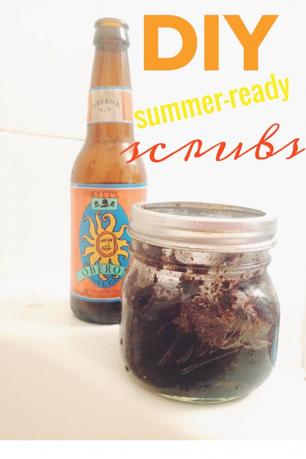 ready for the sun: a quick and easy diy scrub to get ready for summer!