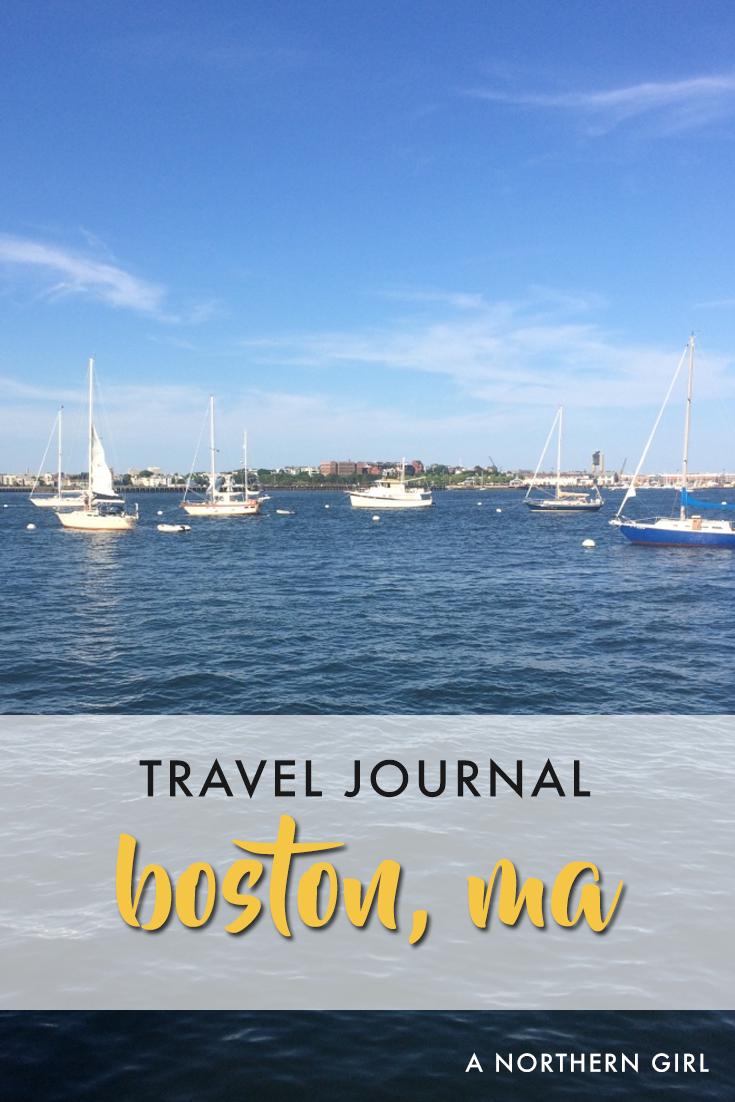 boston travel journal