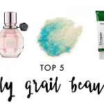 top 5: holy grail beauty products