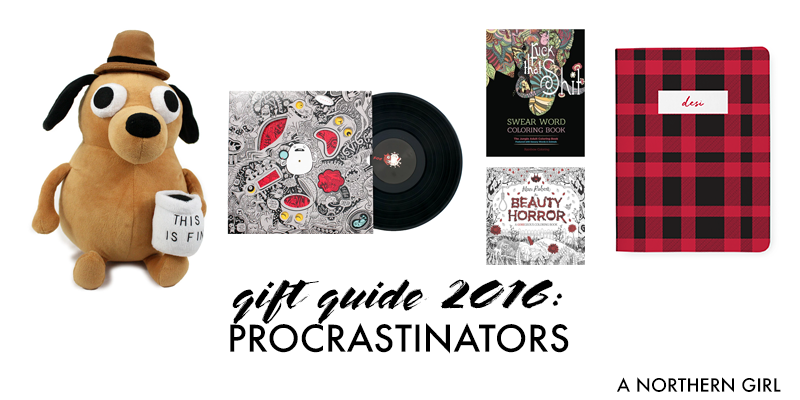 gift guide: 2016 last minute