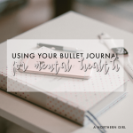 using your bullet journal for mental health