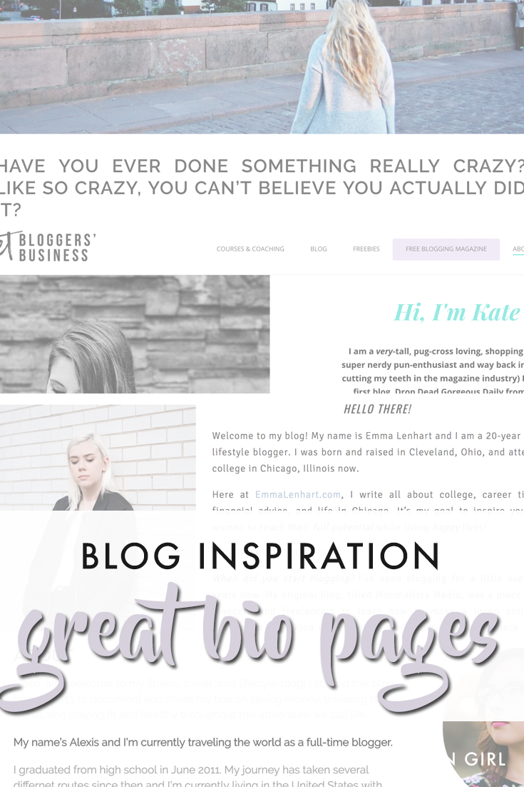 blog about pages
