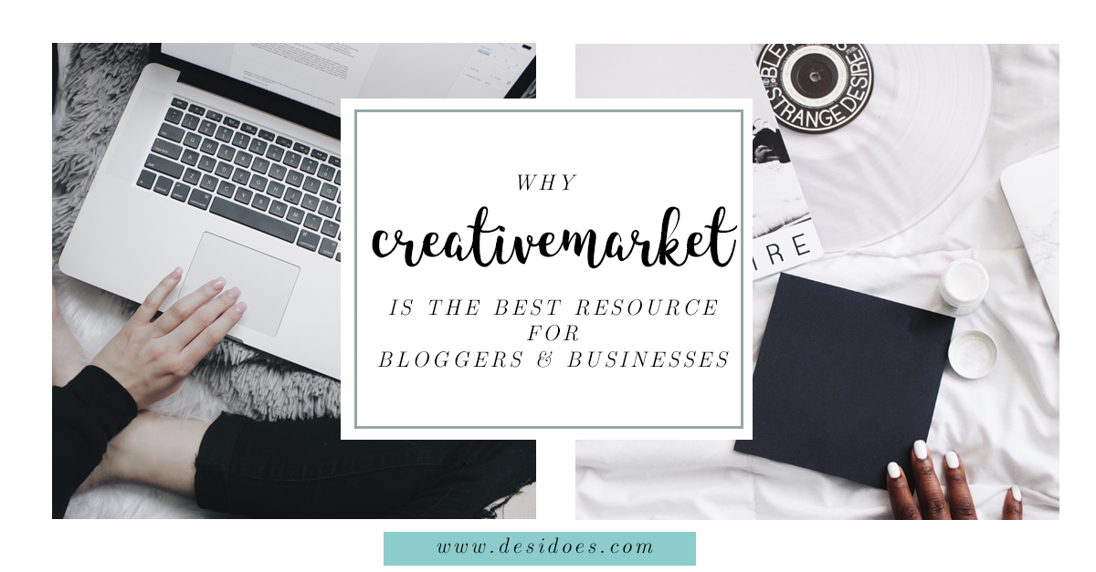 creative market for bloggers