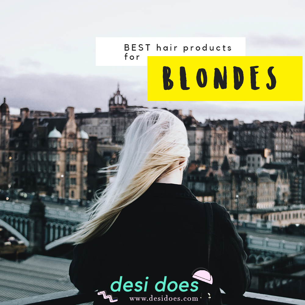 best hair products for blondes