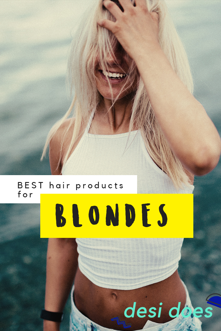 best products for blondes
