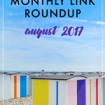 monthly roundup no. 5: august 2017