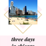 three-day long weekend itinerary for Chicago