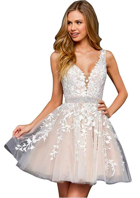 Desi Does Plus Size Short Wedding Dress Amazon Desi Does