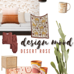 design mood: desert rose